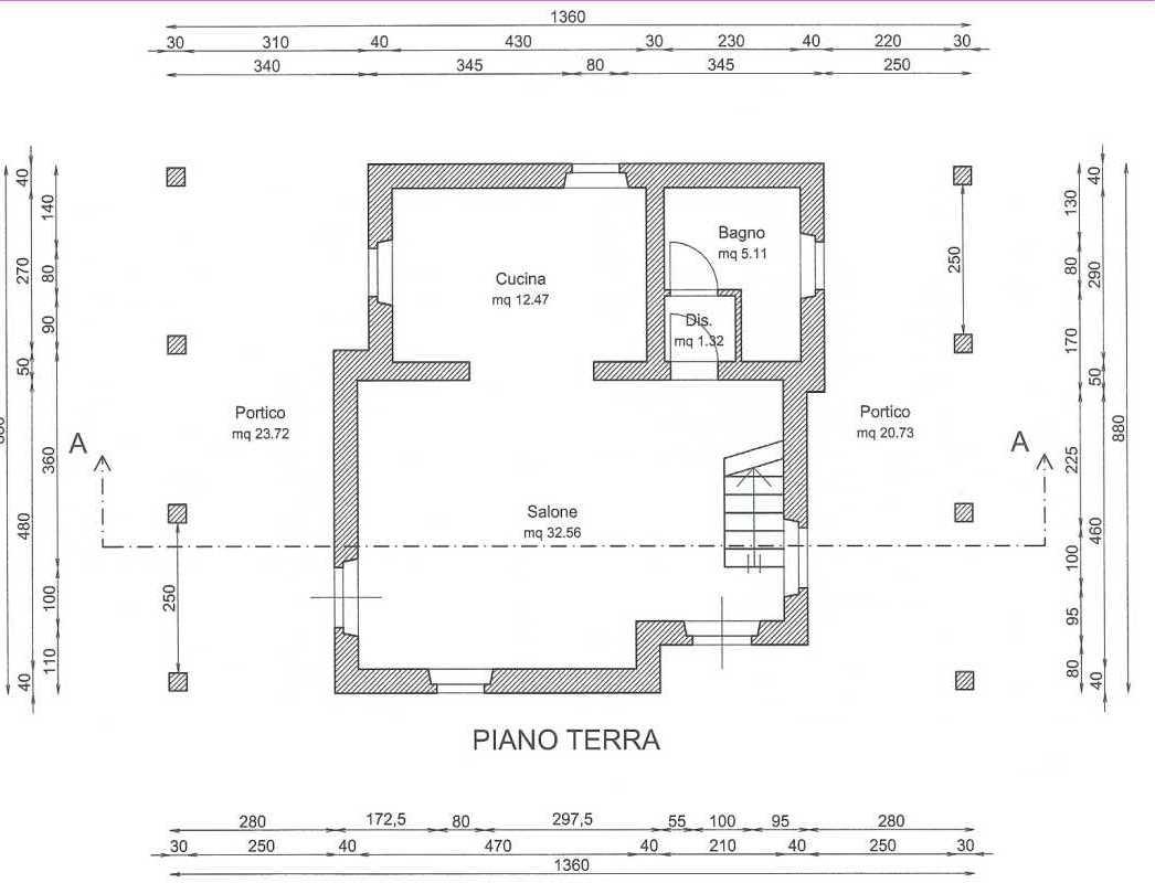 Livingmarche pianta casa piano terra for Piano terra della casa